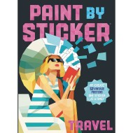 PAINT BY STICKER BOOK TRAVEL