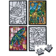 Mini Velvet Art Puzzles (pack of 24)