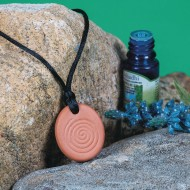 Terra Cotta Aromatherapy Pendants (pack of 12)