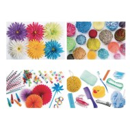 Thera-Jigsaw™ Puzzles, Flowers, Yarn, Party and Bath Supplies (set of 4)