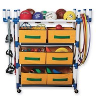 S&S® 4 Level Cart with 6 Baskets