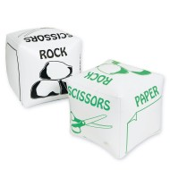 Jumbo Inflatable Rock Paper Scissors