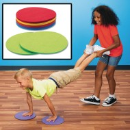 Floor Glide Exercise Spots (pack of 12)