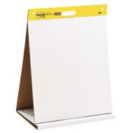"Post-It® Plain Tabletop Easel Pads, 20"" x 23"""