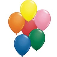 "11"" Qualatex® Balloons - Assorted Colors (bag of 100)"