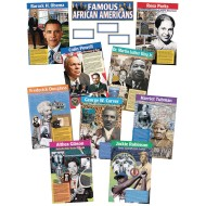 Famous African Americans (set of 9)