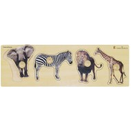 Giant Peg Puzzle, Wild Animals