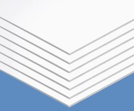 "Foam Board, 20"" x 30"", 3/16"" thick, White (pack of 10)"