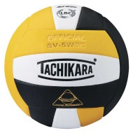 Tachikara® SV-5WSC Volleyball, Gold/White/Black