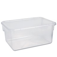 Clear Tote Storage Bins (pack of 15)