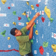 Magna® Wall Climbing Package, 8'H x 40'L with Locking Mats