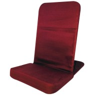 Adult Back Jack Floor Chair, Red