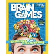 National Geographic Kids Brain Games Book