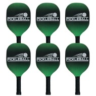 Deluxe Pickleball Paddles (set of 6)