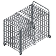 Jaypro® Totemaster TE-2 Split Equipment Cart