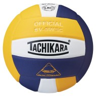 Tachikara® SV-5WSC Volleyball, Gold/White/Purple
