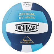 Tachikara® SV-5WSC Volleyball, Powder Blue/White/Navy