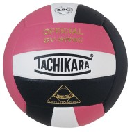 Tachikara® SV-5WSC Volleyball, Pink/White/Black