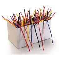 "Chenille Stems/Pipe Cleaners, 12"" x 4mm - Assorted (box of 1000)"