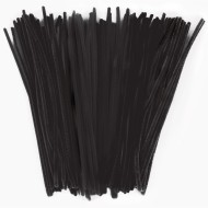 "Single Color Chenille Stems/Pipe Cleaners 12"" x 6mm (pack of 100)"