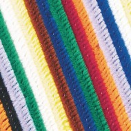 "Chenille Stems/Pipe Cleaners, 12"" x 6mm - Assorted (pack of 1000)"