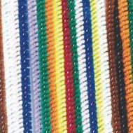 "Chenille Stems/Pipe Cleaners, 6"" x 4mm - Assorted (pack of 100)"