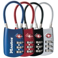 Luggage Combination Padlock Assortment (pack of 4)