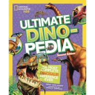 National Geographic Kids Ultimate Dinopedia Book