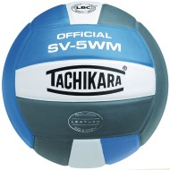 Tachikara® SV-5WM Volleyball, Blue/White/Silver
