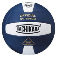 Tachikara® SV-5WSC Volleyball, Navy/White