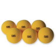 JUMBO FOAM TABLE TENNIS BALL PK 6