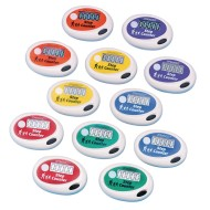 Pedometer Set - Spectrum™ Step Pedometers (pack of 12)
