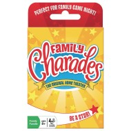 Outset Media® Family Charades Card Game