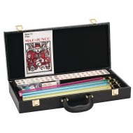 Western Mahjong Set With Case