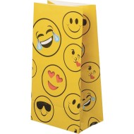 Emoji Treat and Goodie Bags (pack of 12)