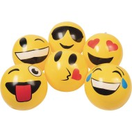 Inflatable Emoji Beach Balls (pack of 12)
