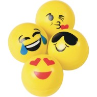 Emoji High Bouncy Balls (pack of 12)