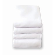 Foundations® SafeFit™ White Fitted Crib Sheet for Full Size Mattress