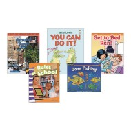 Kindergarten Classroom Library Level B Books (pack of 20)