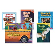 Kindergarten Essential Classroom Library Levels E & F Books (pack of 20)