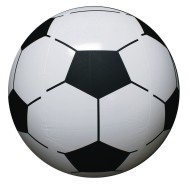Soccer Ball Beach Balls (pack of 12)