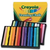 Crayola® Colored Drawing Chalk (pack of 24)