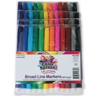Color Splash!® Broad Line Markers (pack of 48)
