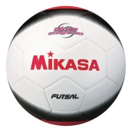 Mikasa® FSC450 Official Futsal Soccer Ball, White/Black/Red