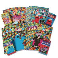 Sesame Street™ Preschool Activity Books and Flash Card Game Set