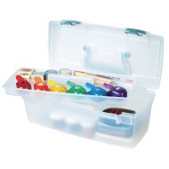 Essentials™ Lift-Out Tray Portable Storage Box