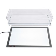 TickiT® Ultra Bright LED Light Panel with Exploration Tray (set of 2)