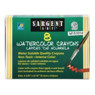 Sargent Art® Watercolor Crayons (pack of 8)