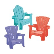 American Plastic Toys® Children's Adirondack Chair Assortment (pack of 6)