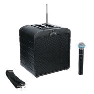 AmpliVox® AirVox Mobile PA System with Handheld Wireless Microphone